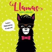 Tf Publishing 2018 Llamas Wall Calendar (18-1042)