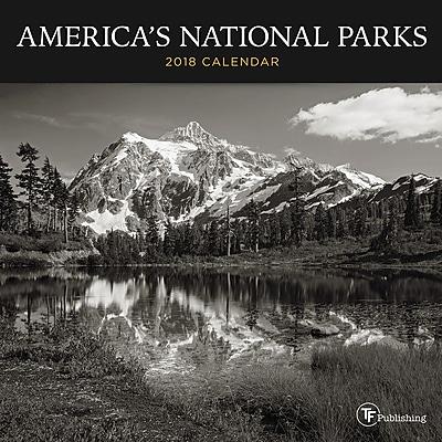 Tf Publishing America's National Parks Mini Wall Calendar (18-294)
