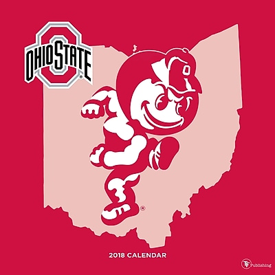 Tf Publishing 2018 Ohio State University Wall Calendar (18-1130)
