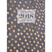 Tf Publishing 2018 Gold Dots Monthly Planner (18-4221)