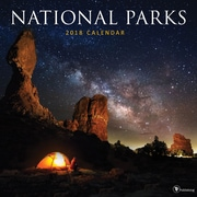 Tf Publishing 2018 National Parks Wall Calendar (18-1093)