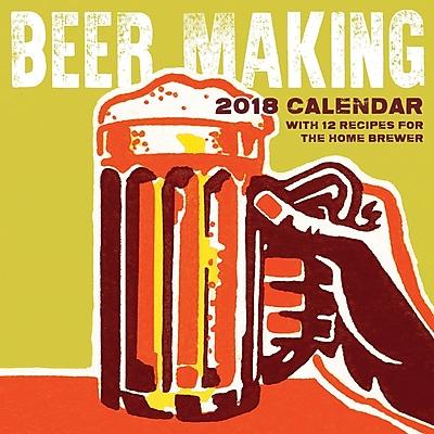 Tf Publishing 2018 Beer Making Wall Calendar (18-1175)
