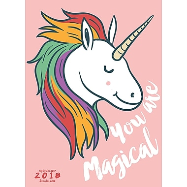 Tf Publishing 2018 Unicorn Monthly Planner (18-4223)