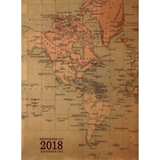 Tf Publishing 2018 Kraft Map Monthly Planner (18-4215)