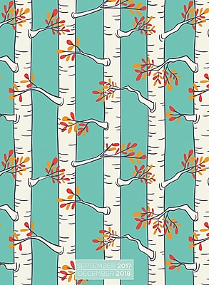 Tf Publishing 2018 Birch Trees Monthly Planner (18-4247)