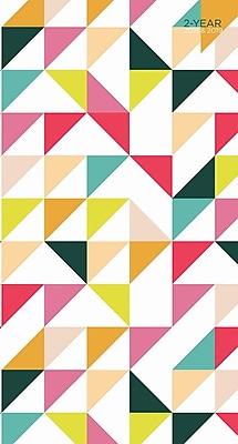 Tf Publishing 2018 Geometric 2 Yr Pocket Planner (18-7206)