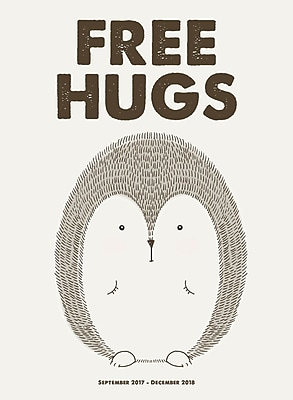 Tf Publishing 2018 Free Hugs Monthly Planner (18-4254)