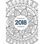 Tf Publishing 2018 Color Me Monthly Planner (18-4018)
