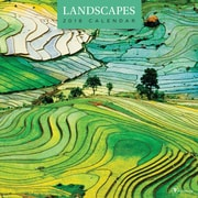 Tf Publishing 2018 Landscapes Wall Calendar (18-1027)