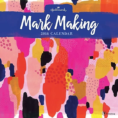 Tf Publishing 2018 Mark Marking: The Art Of Hallmark Wall Calendar (18-1145)