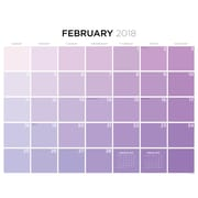 Tf Publishing 2018 For The Love Of Color Desk Blotter (18-8048)