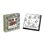 Tf Publishing 2018 Color Me Happy Daily Desktop Calendar (18-3018)