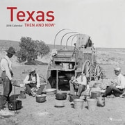 Tf Publishing 2018 Texas - Then And Now Wall Calendar (18-1318)