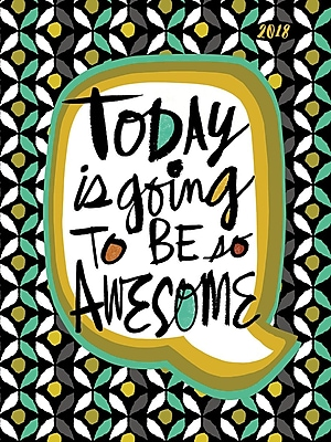 2018 Awesome Today Daily Weekly Monthly Planner