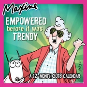 Tf Publishing 2018 Maxine Mini Wall Calendar (18-2052)