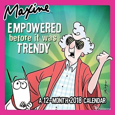 Tf Publishing 2018 Maxine Mini Wall Calendar (18-2052)