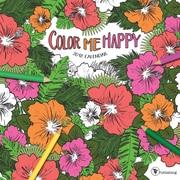 Tf Publishing 2018 Color Me Happy Wall Calendar (18-1018)