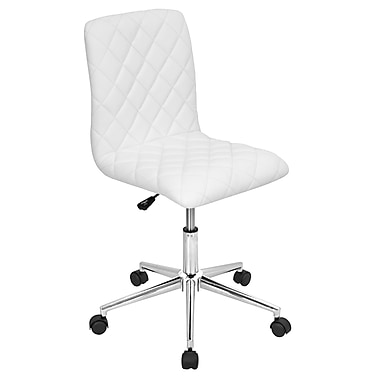 Lumisource Caviar Contemporary Faux Leather Office Chair