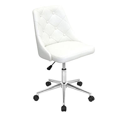 Lumisource Marche Contemporary Faux Leather Office Chair
