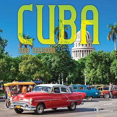 Tf Publishing 2018 Cuba Mini Wall Calendar (18-2029)