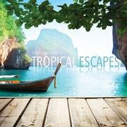 Tf Publishing 2018 Tropical Escapes Wall Calendar (18-1110)
