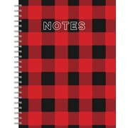 Tf Publishing Nondated Buffalo Plaid Lined Wire-O Journal (99-6006)