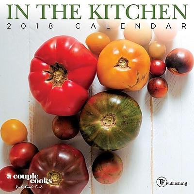 Tf Publishing 2018 In The Kitchen Mini Wall Calendar (18-2139)