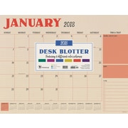 Tf Publishing 2018 Kraft Desk Blotter (18-8215)