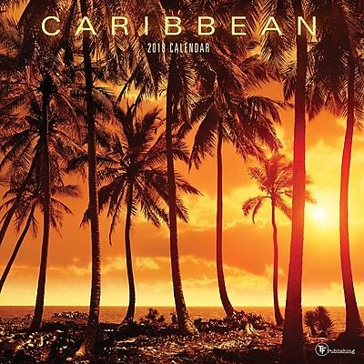 Tf Publishing 2018 Caribbean Wall Calendar (18-1040)