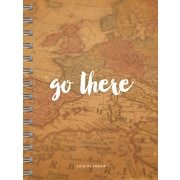 2018 Go There Daily Weekly Monthly Planner