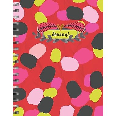 Tf Publishing Spots Spiral Lined Journal (99-6001)