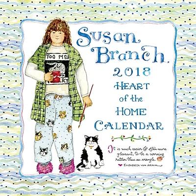 Tf Publishing 2018 Susan Branch Heart Of The Home Wall Calendar (18-1033)