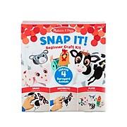 Melissa & Doug Snap It! Beginner Craft Kit, Farm, Ages 3+ (30196)