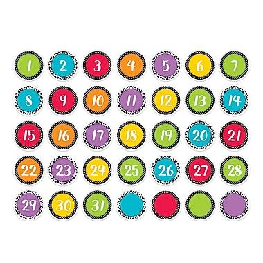 Creative Teaching Press Bold & Bright Calendar Days, 35/Pack (CTP6948)