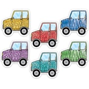 "Creative Teaching Press 3"" Designer Cut-Outs, Safari Friends Off-Road Vehicles (CTP3449)"