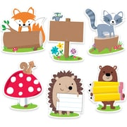 "Creative Teaching Press 6"" Designer Cut-Outs, Woodland Friends (CTP6099)"