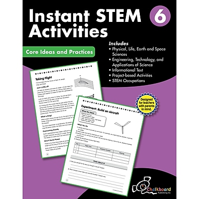 Creative Teaching Press STEM Instant Activities Workbook, Grade 6 (CTP8198)