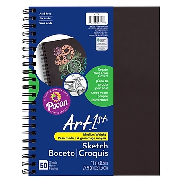 Art1st® Create Your Own Sketch Diary, 8.5