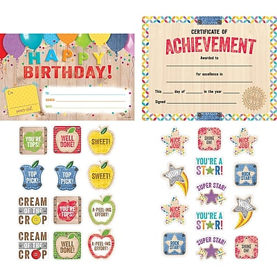 Creative Teaching Press Upcycle Style Awards & Incentives Pack, 205/set (CTP8920)