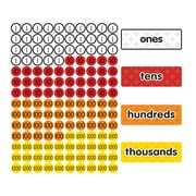 Dowling Magnets Magnet Math™ Magnetic Place Value Disks & Headings, Grades 1-3, 144 per pack (DO-732159)