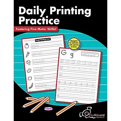 Creative Teaching Press Daily Printing Practice, Kindergarten - Grade 2 (CTP8205)