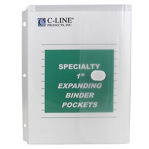 Shop Staples For C-Line® Specialty Binder Pocket W/ Hook