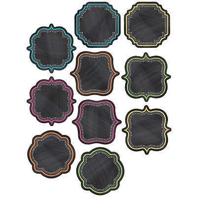 Teacher Created Resources Chalkboard Brights Accents, 30/Pack (TCR5622)