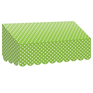 Teacher Created Resources Lime Polka Dots Awning (TCR77162)