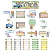 Creative Teaching Press Safari Friends Classroom Jobs Mini Bulletin Board, 43/Set (CTP2185)