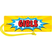 Teacher Created Resources Superhero Magnetic Girls Pass, bundle of 6 (TCR77274)