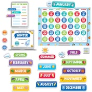 Creative Teaching Press Emoji Fun Calendar Set Bulletin Board, 48/Set (CTP2649)