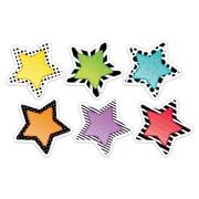 "Creative Teaching Press 3"" Designer Cut-Outs, Bold & Bright Stars (CTP8091)"