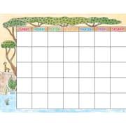Creative Teaching Press Safari Friends Calendar Chart (CTP0544)