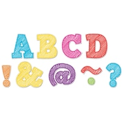 "Teacher Created Resources 2"" Magnetic Letters, Scribble Bold Block (TCR77301)"